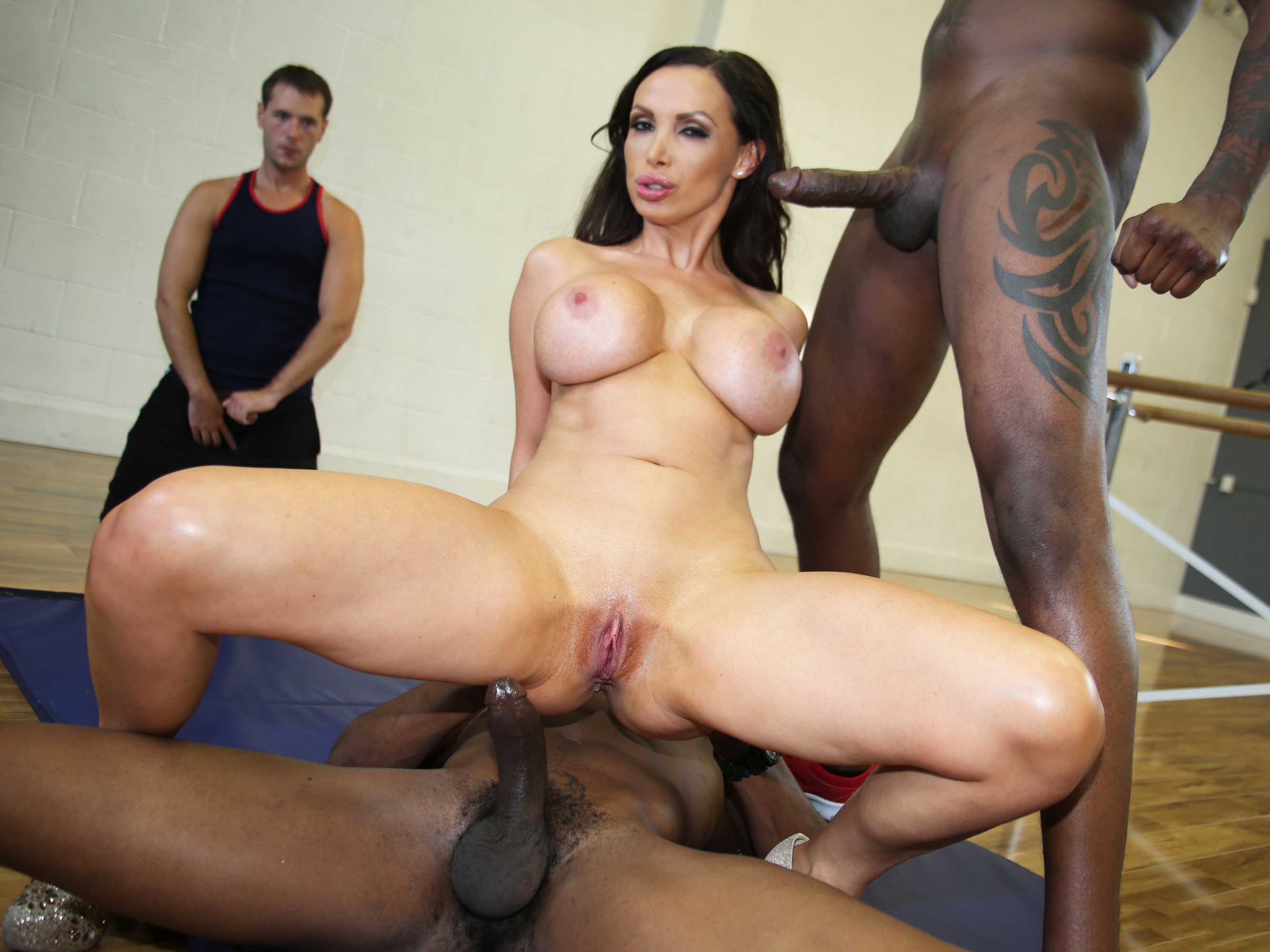 White wife takes bbc in front of cuckold - 2 part 10