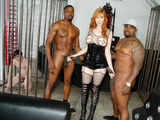 Redhead Lauren Phillips Gets Her Holes Filled with BBC - Cuckold Sessions