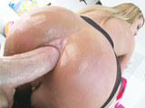 Fat dick filled Corinna Blakes mature ass