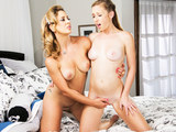A stunning mom seducing and desires to have a sexual activity with her gorgeous stepdaughter