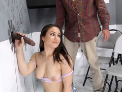 Busty Gabriella Paltrova Tries Anal in an adult bookstore